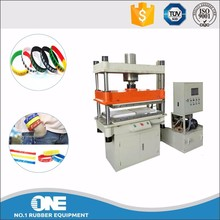 rubber plate press vulcanizer machine for making silicone bracelet