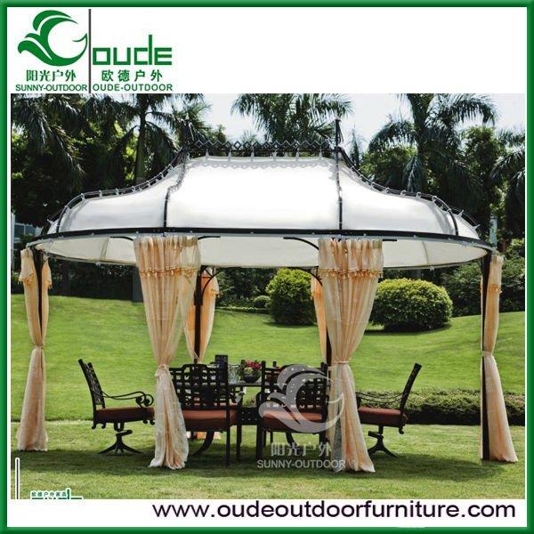2016 vendite calde di lusso giardino gazebo in alluminio for Gazebo lusso