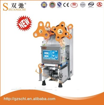 china supplier hot sale plastic cup machine automatic plastic bottle cap sealing machine cup sealing machine with wholesale