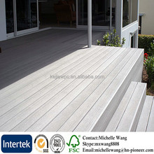 Hot sale Wood plastic WPC tongue and groove composite decking, wood composite decking white, extruded plastic composite decking