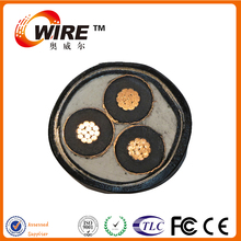 YJV22 26kV XLPE Insulation PVC Jacket 3 Cores Copper AC Power Steel Armored Cable