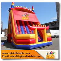 Hot sale Giant Inflatable slide rock Climbing slide with durable PVC tarpaulin for adults and kids Sports Games