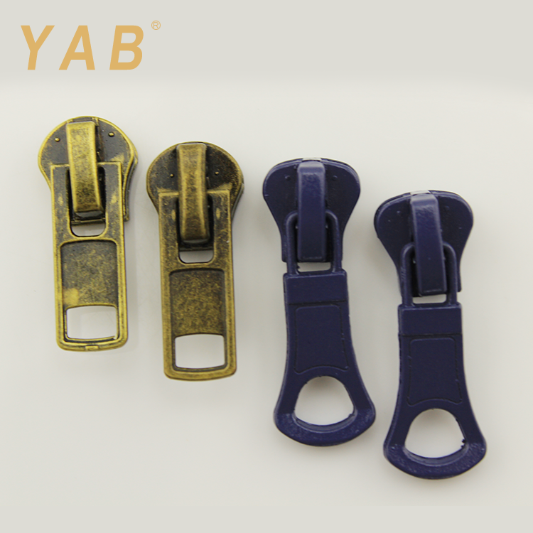 YAB Most Wanted Products Decorative Chain Metal Zipper Pulls Slider For Suitcase