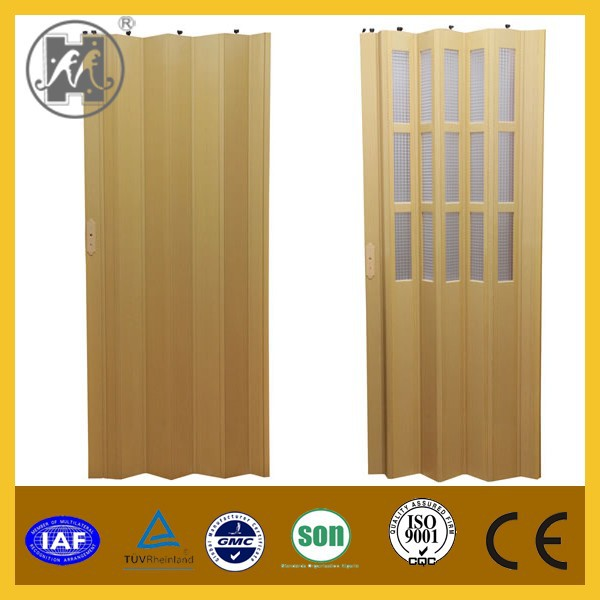 Sliver PVC Folding Door,PVC Accordion Door,PVC Door