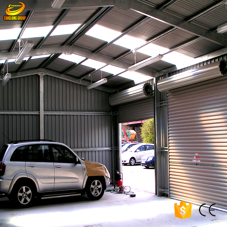 Low cost steel poultry shed construction warehouse building