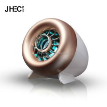 2017 mini airplane engine speaker,cool USB 2.1 computer speaker with flashing led light