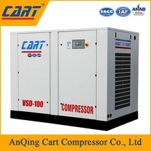 30hp 5bar price low pressure belt driven high quality motor screw air compressor