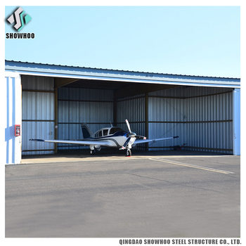 Industrial Prefabricated Buildings Steel Structure Helicopter Hangar