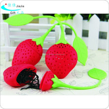Silicone strawberry tea filter /Coffee Filter Basket Coffee & Tea Tools Type