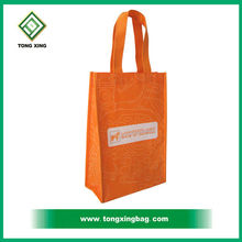 Customized recycled fabric food market shopping grocery Non woven tote bag