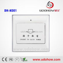 Low power new model hotel doorbell switch manufacturer,high efficient electric switch for hotel or home