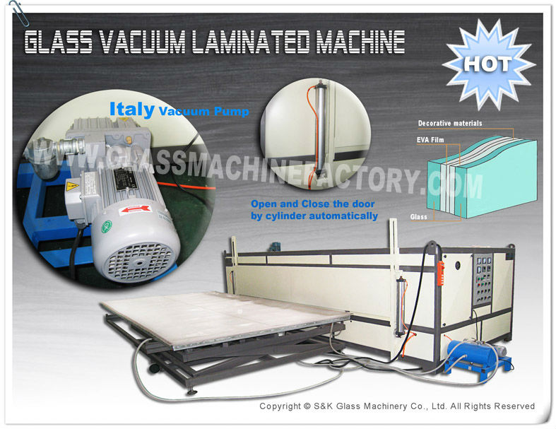 PLC Controlled Laminating Safety Glass Machine