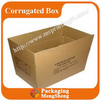 heavy duty brown cardboard corrugated box packaging