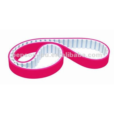 Polyurethane Synchronous Belt with red rubber coating