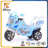 three wheels plastic electric cars for kids kid motocicletas al por mayor