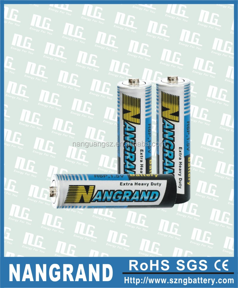 zinc carbon heavy duty battery