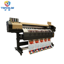 1.7m width flex sticker vinyl plotter printer roll to roll eco solvent digital printing machine