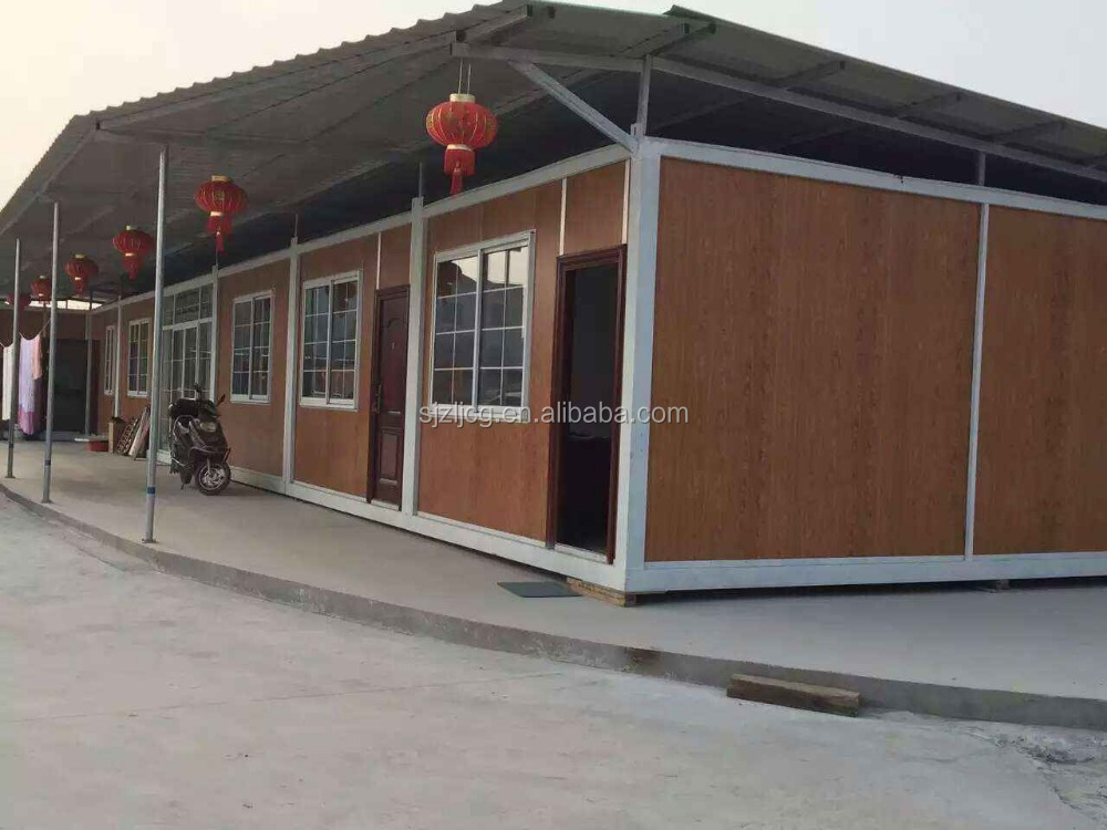 20ft flat pack luxury prefabricated villa office/ 40feet prefab container house