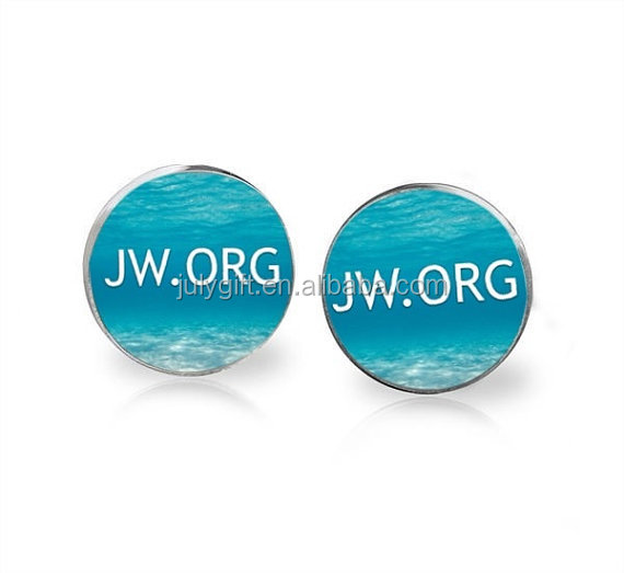 JW.ORG American sign language metal pin badge