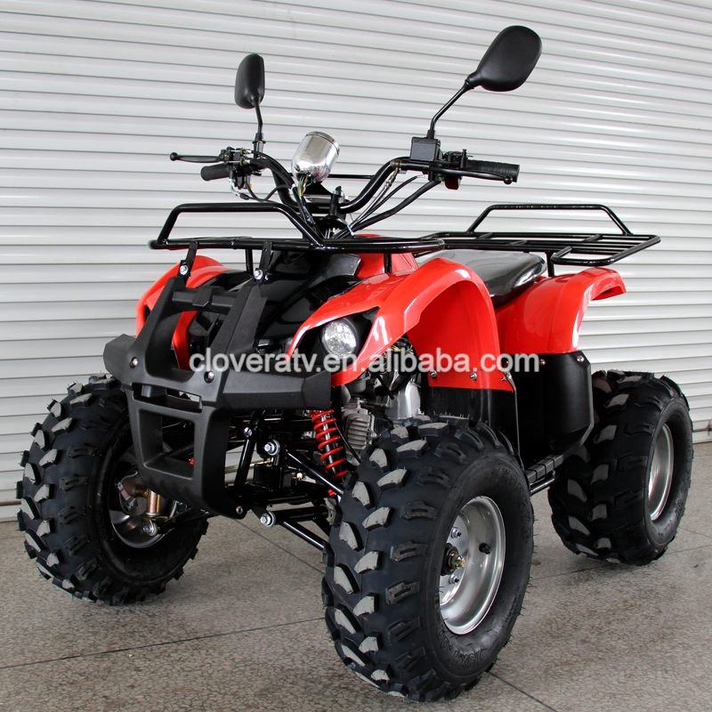 4 Stroke Air Cooled Sport Quad ATV 110CC Bull ATV with Rear Mirror