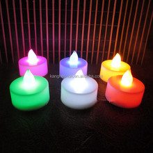LED Tea light Mini Battery Operated Flickering Flameless Lighting LED Candle