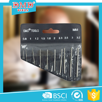 10pcs a set DMD diamond piling parallel shank drill bit for glasses