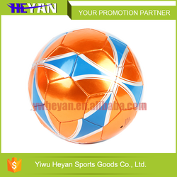 Custom high quality sewing machine soccer ball