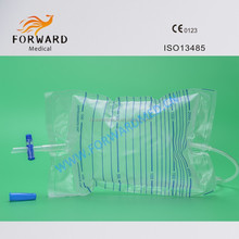 Disposable Adult Urine Bag Drainage Bag 2000ml Sterile or Non-sterile