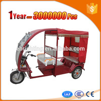 cheapest electric tuk for passengers with big cargo cabin