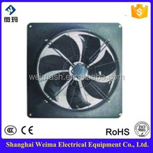 low energy consumption cold rolled steel squirrel cage fan direction for air exhaust