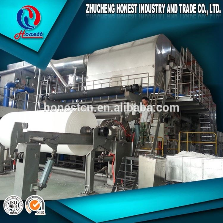 Energy Saving 2850mm 650 PMP Tissue Paper Manufacturing Process, Toilet Paper Business