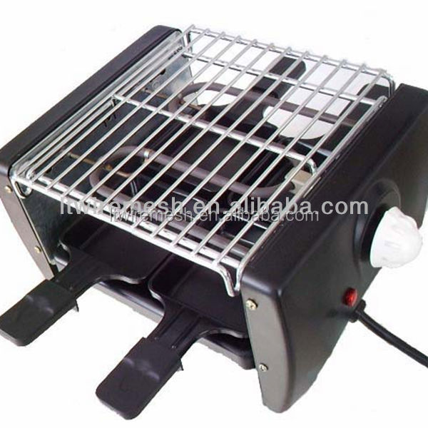 China welding square barbecue grill netting/oven cooking mesh