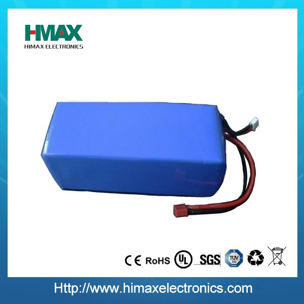 lithium ion polymer 12v 80ah deep cycle battery pack for golf cart