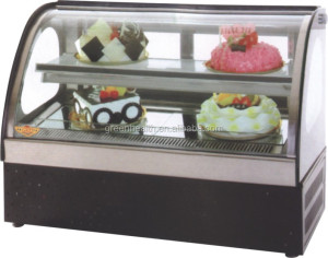 counter serve bakery display cabinet for commercial refrigerator