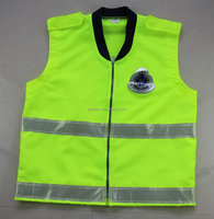 150D Oxford with PVC Reflective waistcoat