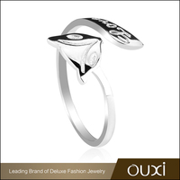 OUXI Cute Animal Fox Shaped Jewelry Fashion Rings For Sale