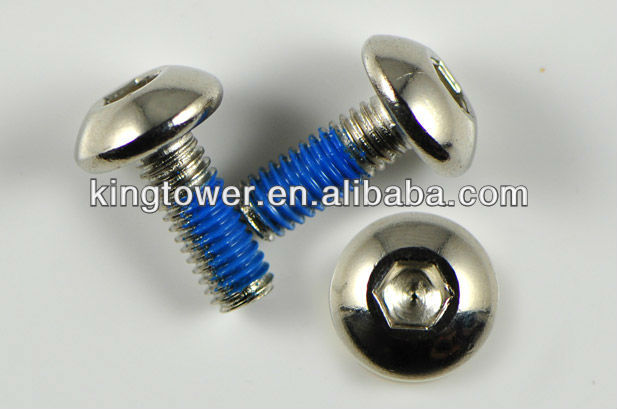 semi-circle head screw