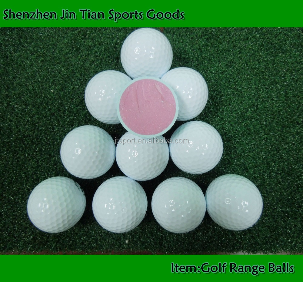 Golf Ball Manufacturer Customized Logo Golf Driving Range Balls