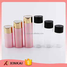 New design travel cosmetic lotion bottles pet soap bottle
