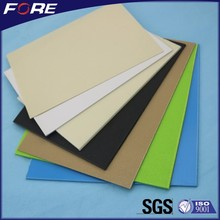 White Black Colored Vacuum Forming Plastic 1mm ABS Sheet