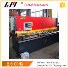 CNC control QC12Y-6/4000 hydraulic steel sheet plate cutting machine