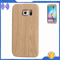 Mobile Phones Paypal For Samsung S6 Edge Accessory,Wooden Crafts TPU Case