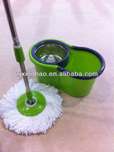 healthful new plastic bucket,window and car cleaning mop