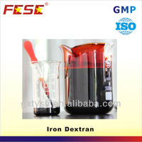 anti-anemia product iron dextran 5% for sheep