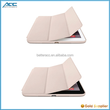 2015 New design case,factory wholesale price tablet smart cover for iPad 6