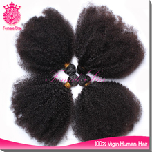 novelty products chinese afro kinky curly human remy hair, cambodian kinky curly hair weaves