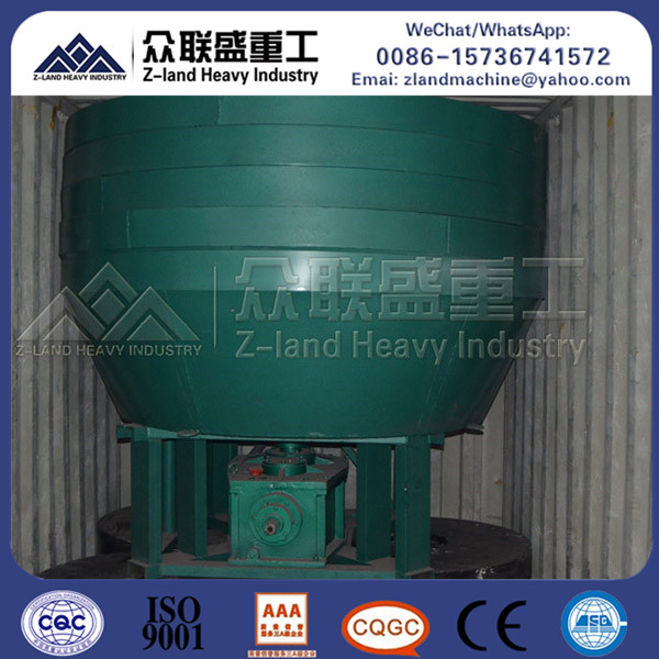 China factory low price silver copper iron zinc lead 1100 gold wet pan mill video