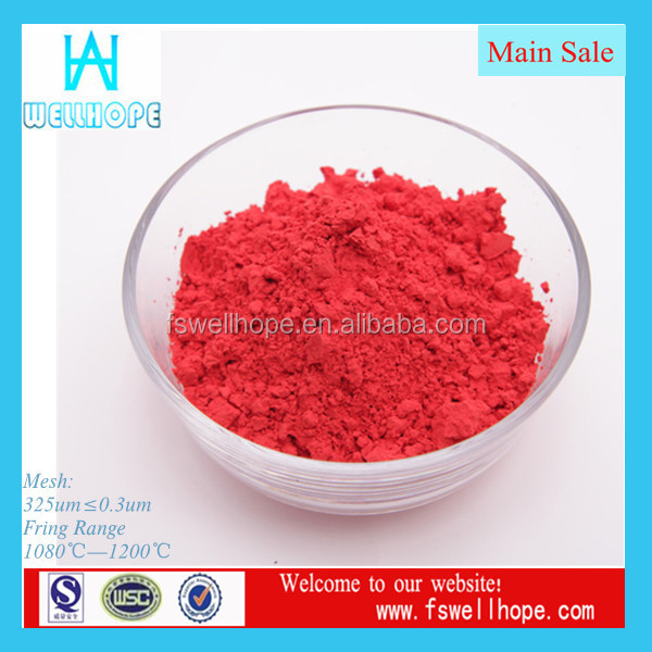 Ceramic colors factory inclusion color bright red ceramic inclusion colors pigments colors for cememt,brick,concrete parts