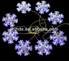 White color Christmas led motif light of snowflakes