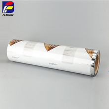Custom printed plastic food packaging film roll ice cream packing film